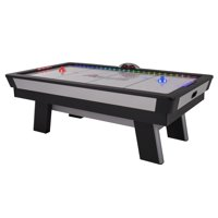 Atomic Top Shelf 7.5' LED Illuminated Air Hockey Table for Air-Powered Play