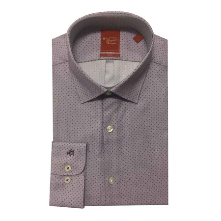 Original Penguin Men's Long Sleeve Slim Fit Dress Shirt