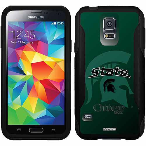 Michigan State Watermark 2 Design on OtterBox Commuter Series Case for Samsung Galaxy S5