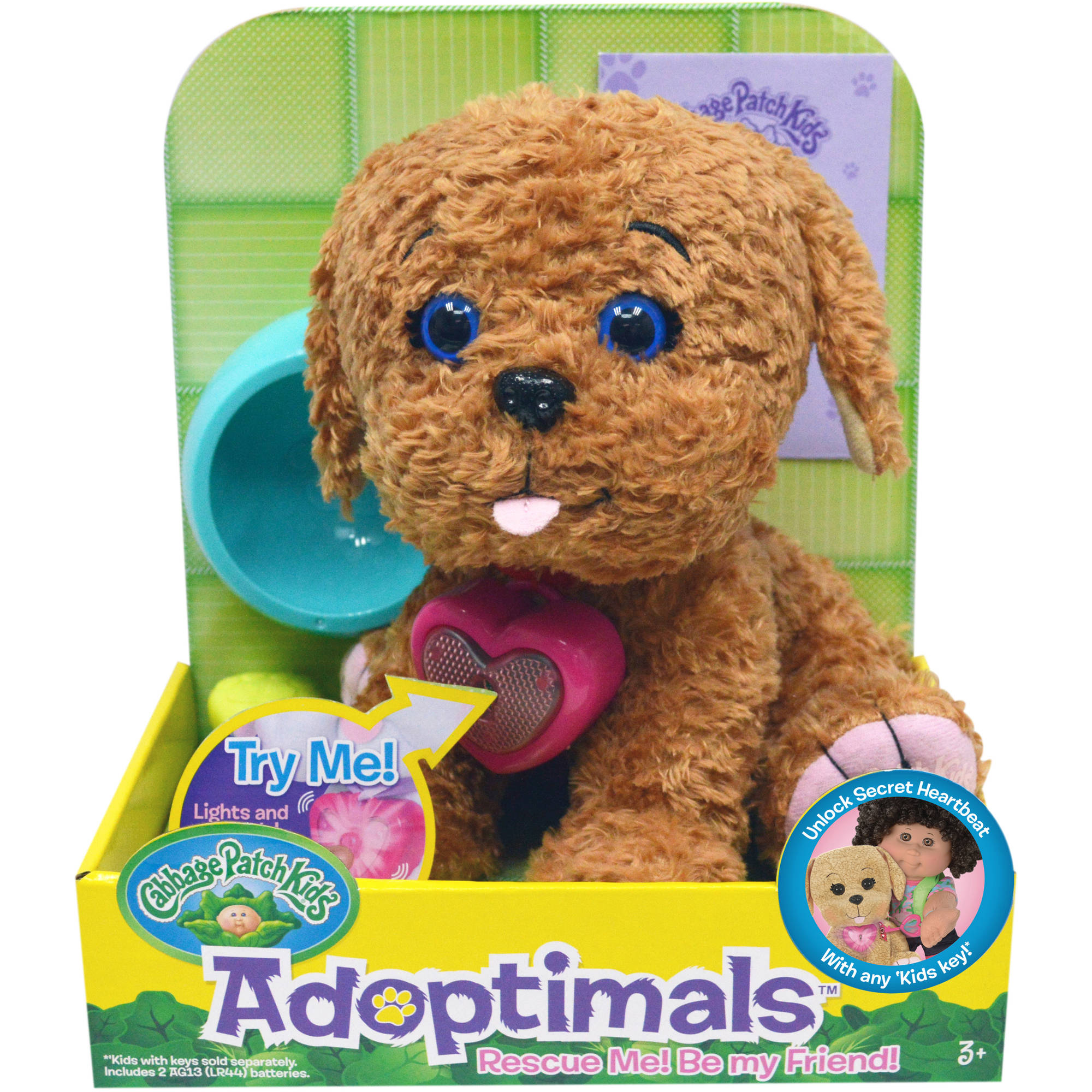 "Cabbage Patch Kids Adoptimals 9"" Labradoodle with Sound"
