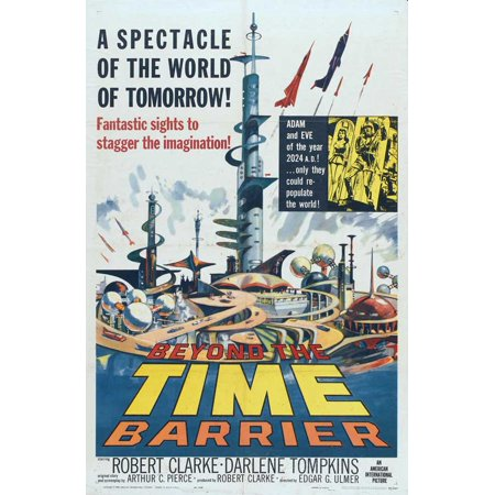 Beyond The Time Barrier  1960  27X40 Movie Poster