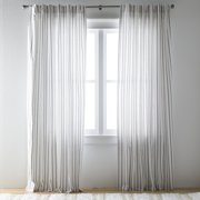 Belham Living Ticking Stripe Curtain Panel Pair