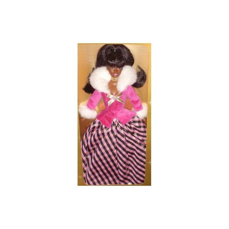 Winter Rhapsody African American Barbie Avon Special Edition by