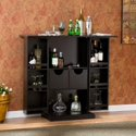 Copper Grove Targhee Black Bar Cabinet