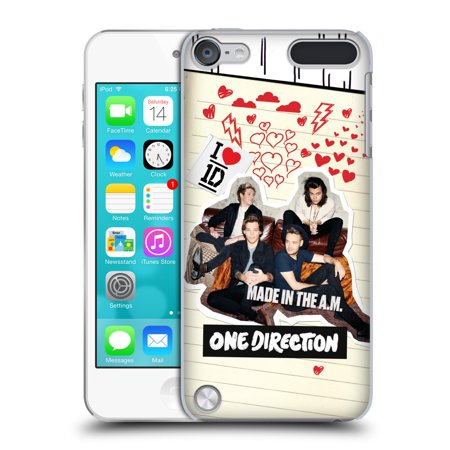 OFFICIAL ONE DIRECTION MADE IN THE A.M. HARD BACK CASE FOR APPLE IPOD TOUCH