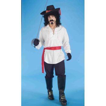 CO-WHITE SWASH BUCKLER SHIRT - Female Pirate Garb