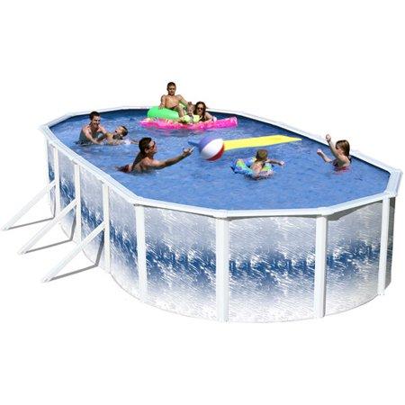 Heritage 24 39 x 12 39 x 52 yosemite steel wall above ground swimming pool for Steel above ground swimming pools