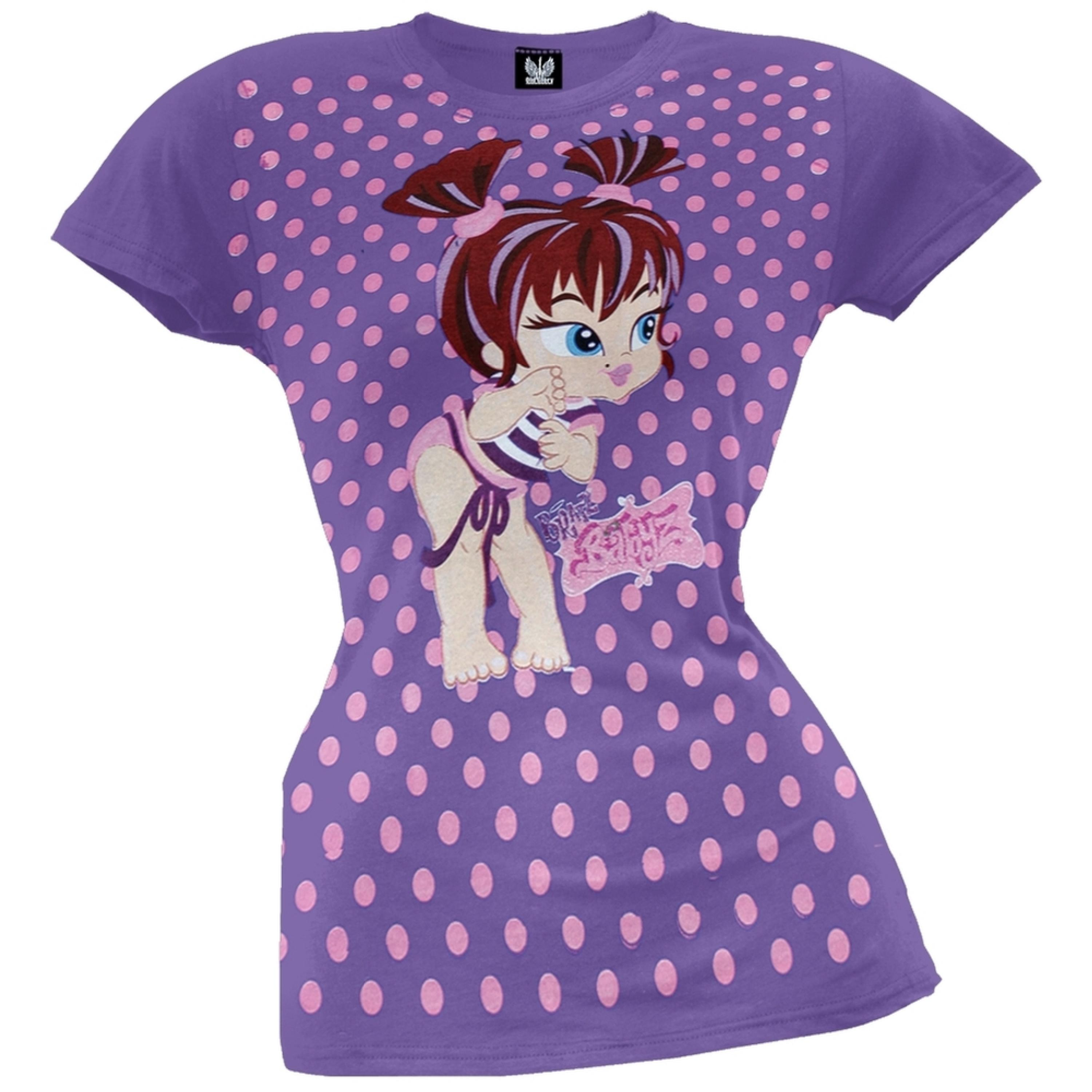Bratz - Baby Pink Dots Juvy Girls T-Shirt