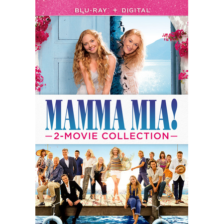 Mamma Mia! 2-Movie Collection (Blu-ray + Digital) (Difference Between Mia 1 And Mia 2)