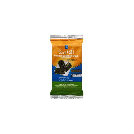 (4 Pack) Sea's Gift Korean Seaweed Snack (Kim Nori), Roasted & Sea Salted, 0.17 Ounce Bags (12 (Hawaiian Seaweed)