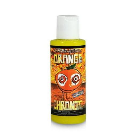 Orange Chronic 4oz Glass Pipe Cleaner