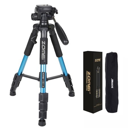 Zimtown Portable ZOMEI Q111 Aluminium Tripod Heavy Duty & Flexible for DSLR