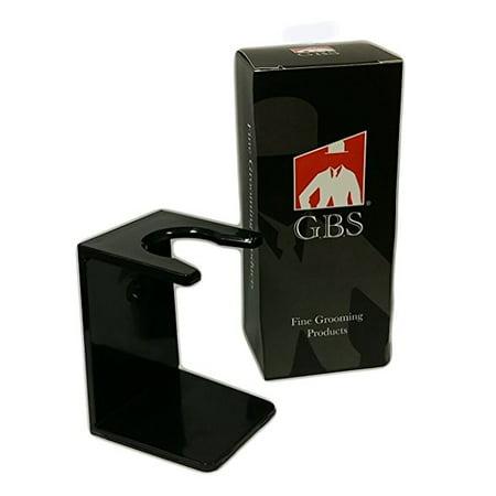 Shaving Brush Stand, Black Drip Stand - Acrylic
