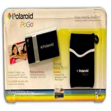Polaroid Pogo Instant Digital Mobile Printer 40 Sheets Of Zink