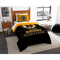 "NHL Boston Bruins ""Draft"" Bedding Comforter Set"