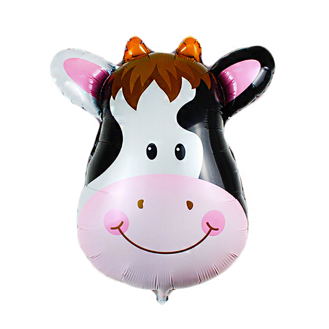 Unique Bargains Family Foil Cow Design Inflation Helium Balloon Birthday Ornament 11 Inch