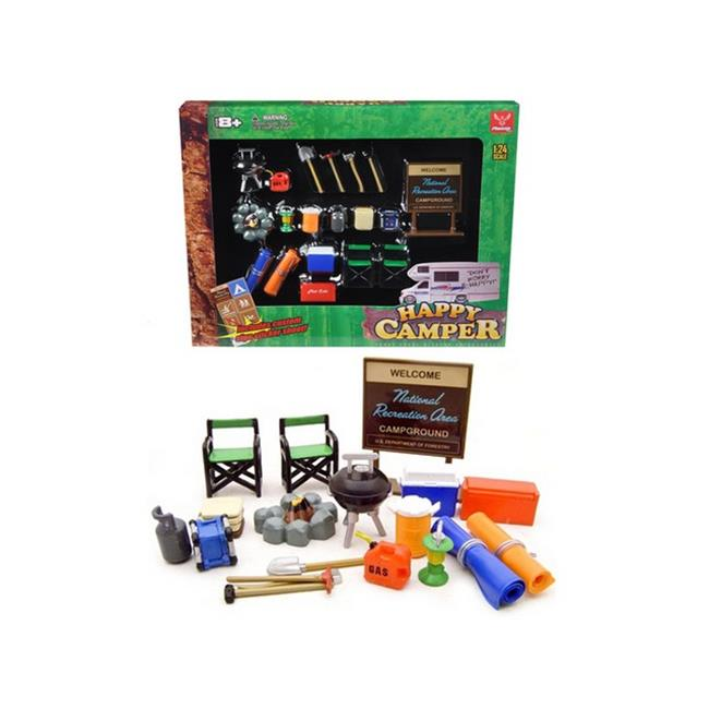 Phoenix Toys 18430 Camper Accessories Set for 1-24 Diecast Car Models - image 1 de 1