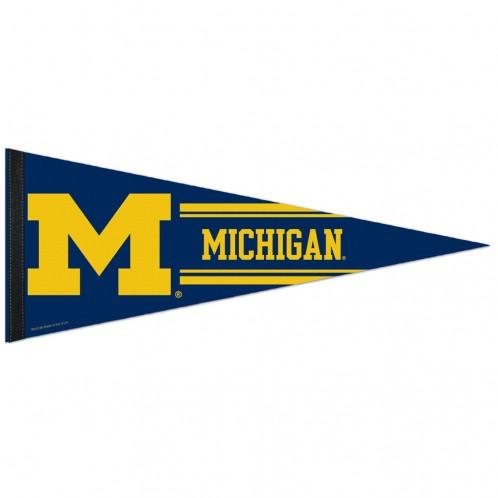 Michigan Wolverines Premium Pennant
