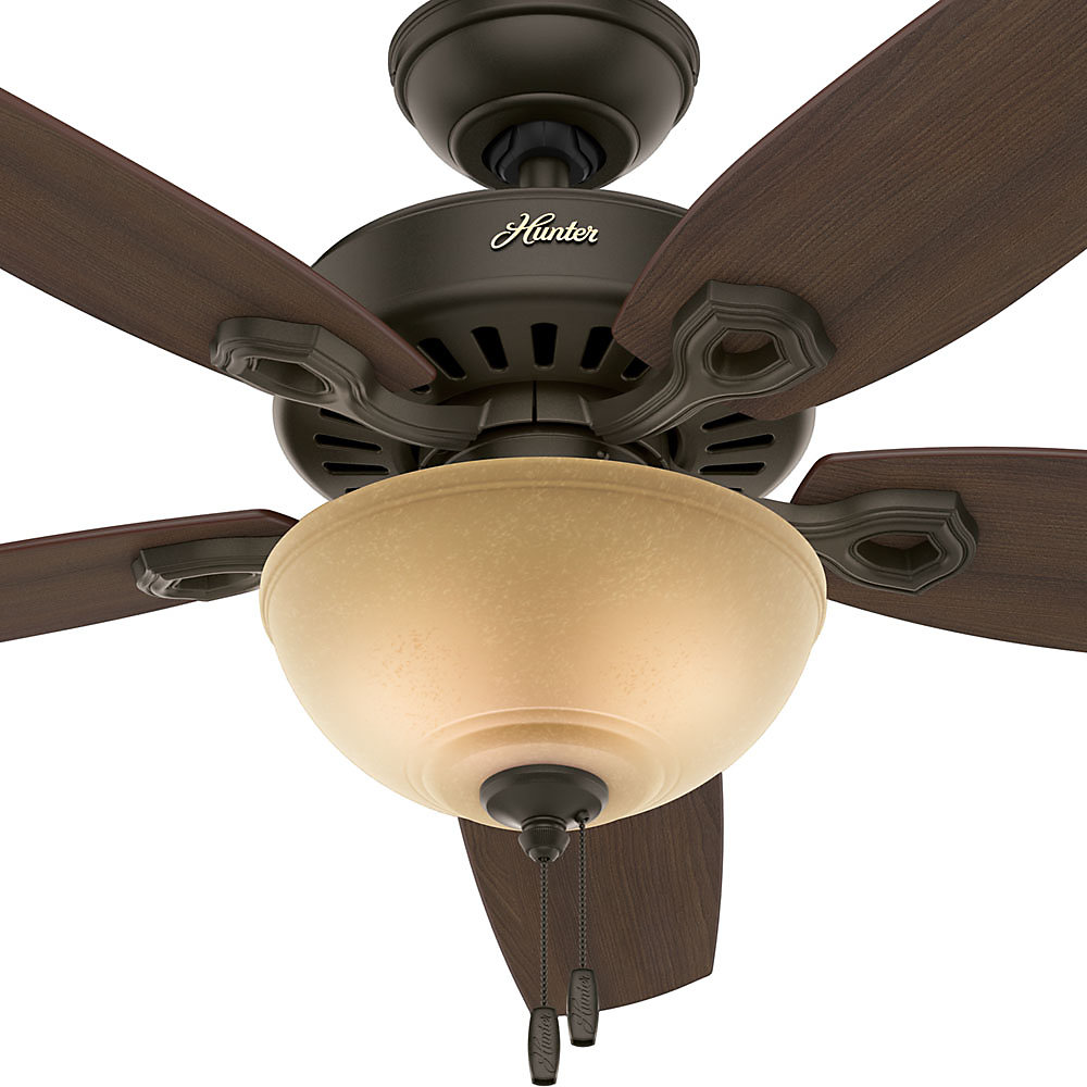 Hunter 52 builder deluxe new bronze ceiling fan with light hunter 52 builder deluxe new bronze ceiling fan with light walmart aloadofball Image collections