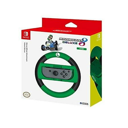 HORI Nintendo Switch Mario Kart 8 Deluxe Wheel (Luigi Version) Officially Licensed By Nintendo - Nintendo Switch