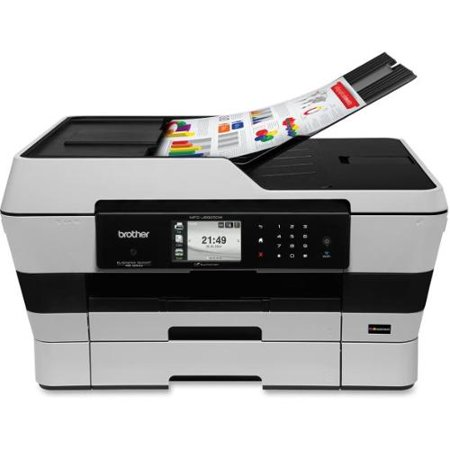 Brother Business Smart MFCJ6925DW Inkjet Multifunction Printer - Color - Plain Paper Print - Desktop - Copier/Fax/Printe