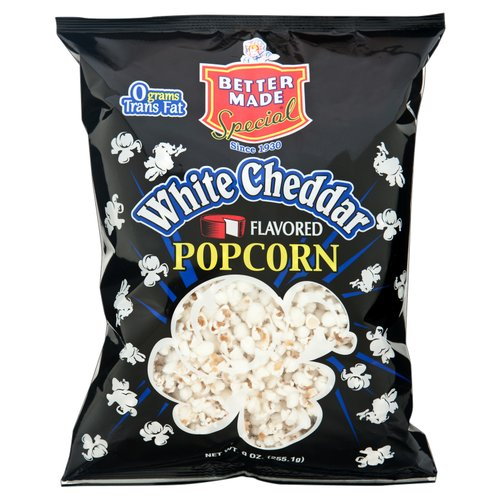 Better Made Special White Cheddar Flavored Popcorn, 9 oz