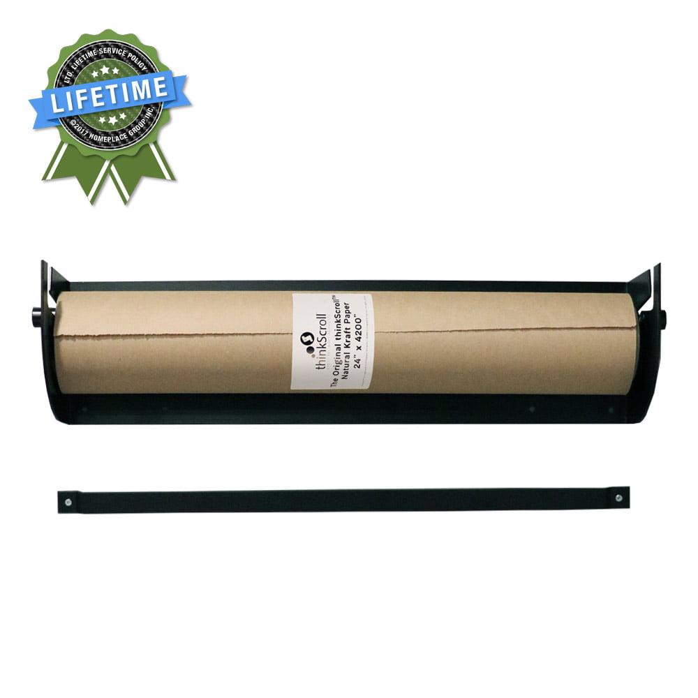 Thinkscroll 24 Wall Mounted Kraft Or Butcher Paper Roll Holder
