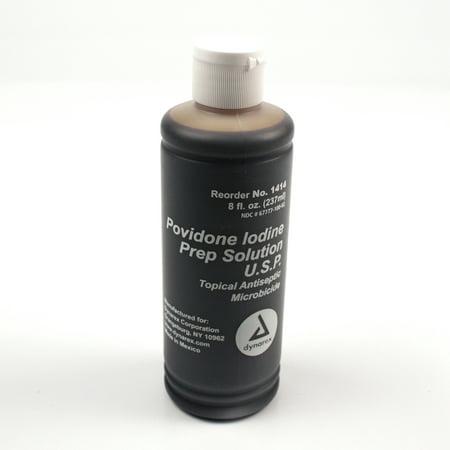 Povidone iode Préparation Solution 8 oz 1 cas