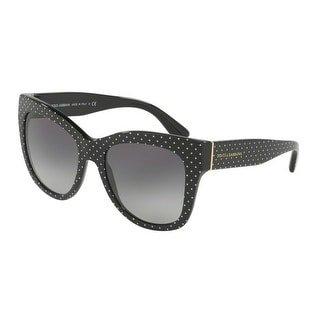 Dolce & Gabbana DG4270 31268G Pois White on Black Square (Dolce & Gabana Glasses)