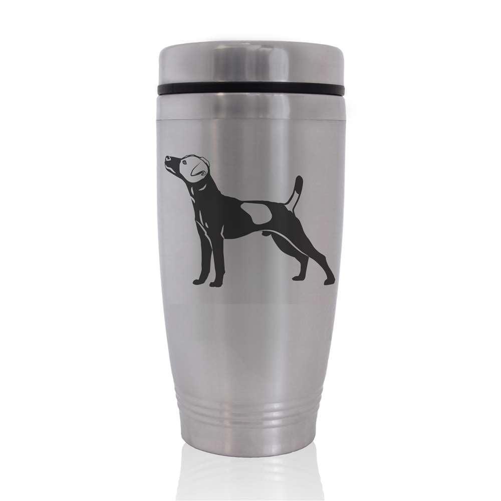 Commuter Travel Coffee Mug - Jack Russell Terrier Dog