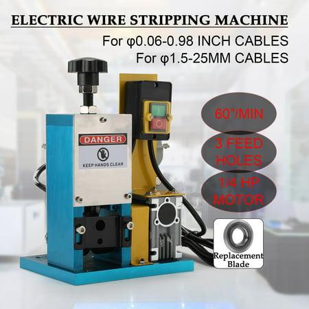 Electric Wire Stripping Machine Portable Scrap Cable Stripper