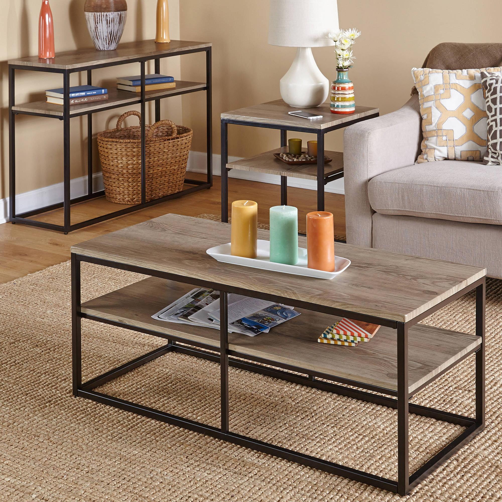 Vie Occasional Sofa Table NAT Walmart