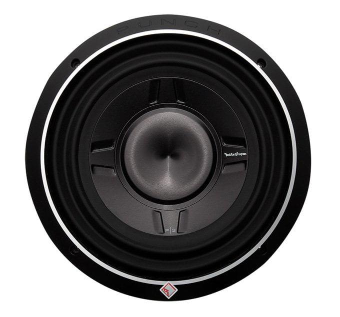 Rockford Fosgate 10 Inch 600 Watt Car Audio Shallow Subwoofer P3SD2-10