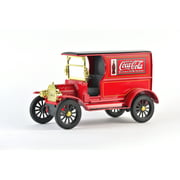 Coca-Cola 1/24 Scale 1917 Ford Model-T Diecast Cargo Van (Collectible Toy Vehicle)