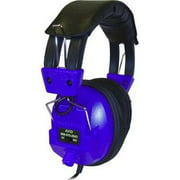 Ergoguys Switchable Stereo/Mono Headphone with Voume Control, Blue