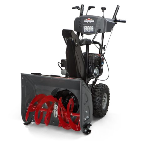 Briggs & Stratton 1696614 208cc 24 in. Dual Stage Medium-Duty Gas Snow Thrower with Electric