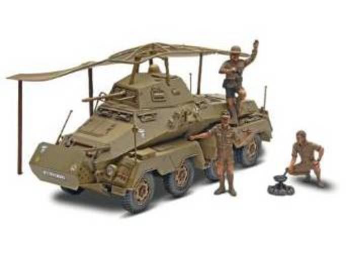 Revell Monogram Panzerspahwagen Sd.Kfz. 232 Plastic Military by Revell