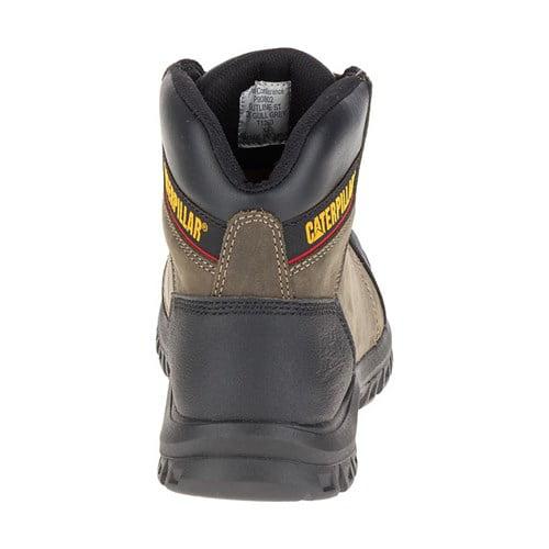 a40eded6df4 CAT Footwear Outline Steel Toe - Dark Gull Grey 8.0(M) Work Boot
