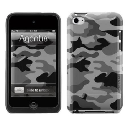 Agent18 WTSLX/M24 Ipod Touch 4G Shield Limited Case, Grey Camouflage (Ipod 4g Case Camo)