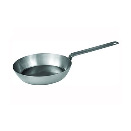 CSFP-8, 8-5/8-Inch French Style Fry Pan, Carbon Steel Frying Pan with Extra Long Solid Metal Handle, This French style fry pan is an essential item.., By Winco