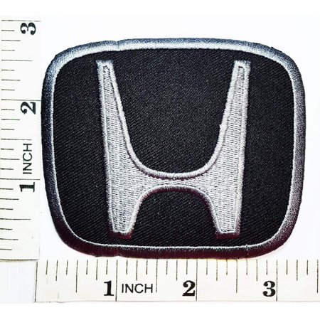 Honda Logo Patch - Honda motorsport patch Symbol Jacket T-shirt Embroidered Patch 4 x 3 inches Logo Sew Ironed On Badge Embroidery Applique Patch.