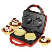 Kalorik Waffle Bowl Maker, Red