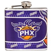 Phoenix Suns 6oz. Stainless Steel Hip Flask - Silver