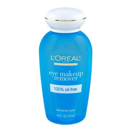 Strawberry Makeup Remover (L'Oreal Paris Dermo-Expertise Eye Makeup Remover, 4 Fl Oz)