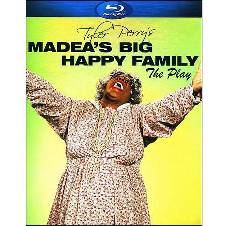Tyler Perrys Madeas Big Happy Family  The Play  Blu Ray   Widescreen