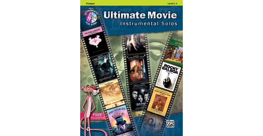 Alfred Ultimate Movie Instrumental Solos -Trumpet-Book & CD by Alfred