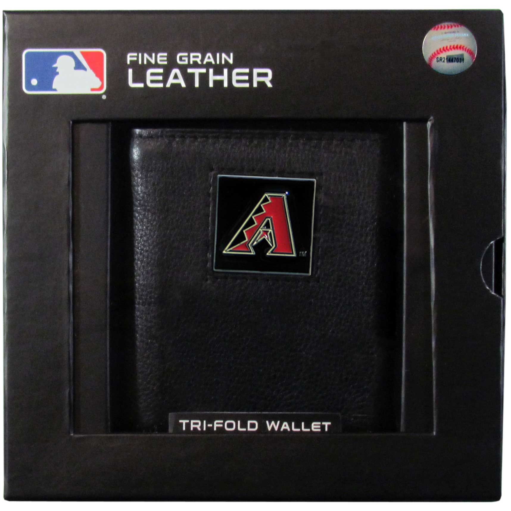 Arizona Diamondbacks Official MLB Leather Tri-fold Wallet by Siskiyou 991523