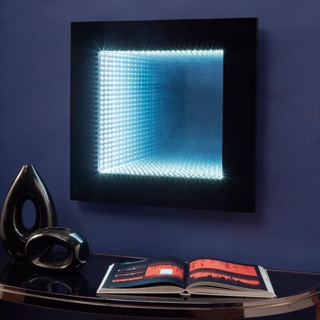 iNSPIRE Q Inaara Infinity LED Wall Mirror Accent Light by  Bold (Led Infinity)