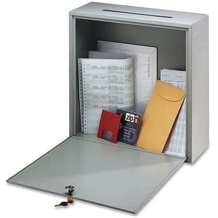Buddy Products Buddy Products Interoffice Steel 1 Unit Drop Box