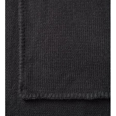 Tweed 100% Acrylic Knit Yarn Shelburne Wrap with Button Detail,